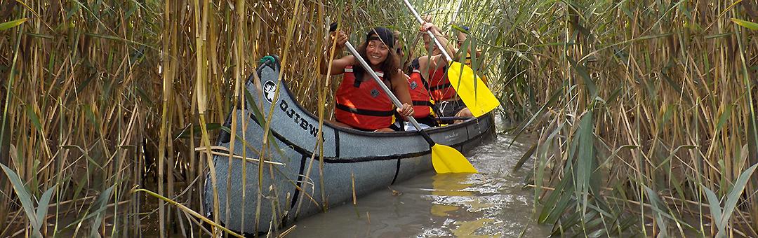 Im Indianer-Kanu unterwegs mit Paddelland-Schweiz